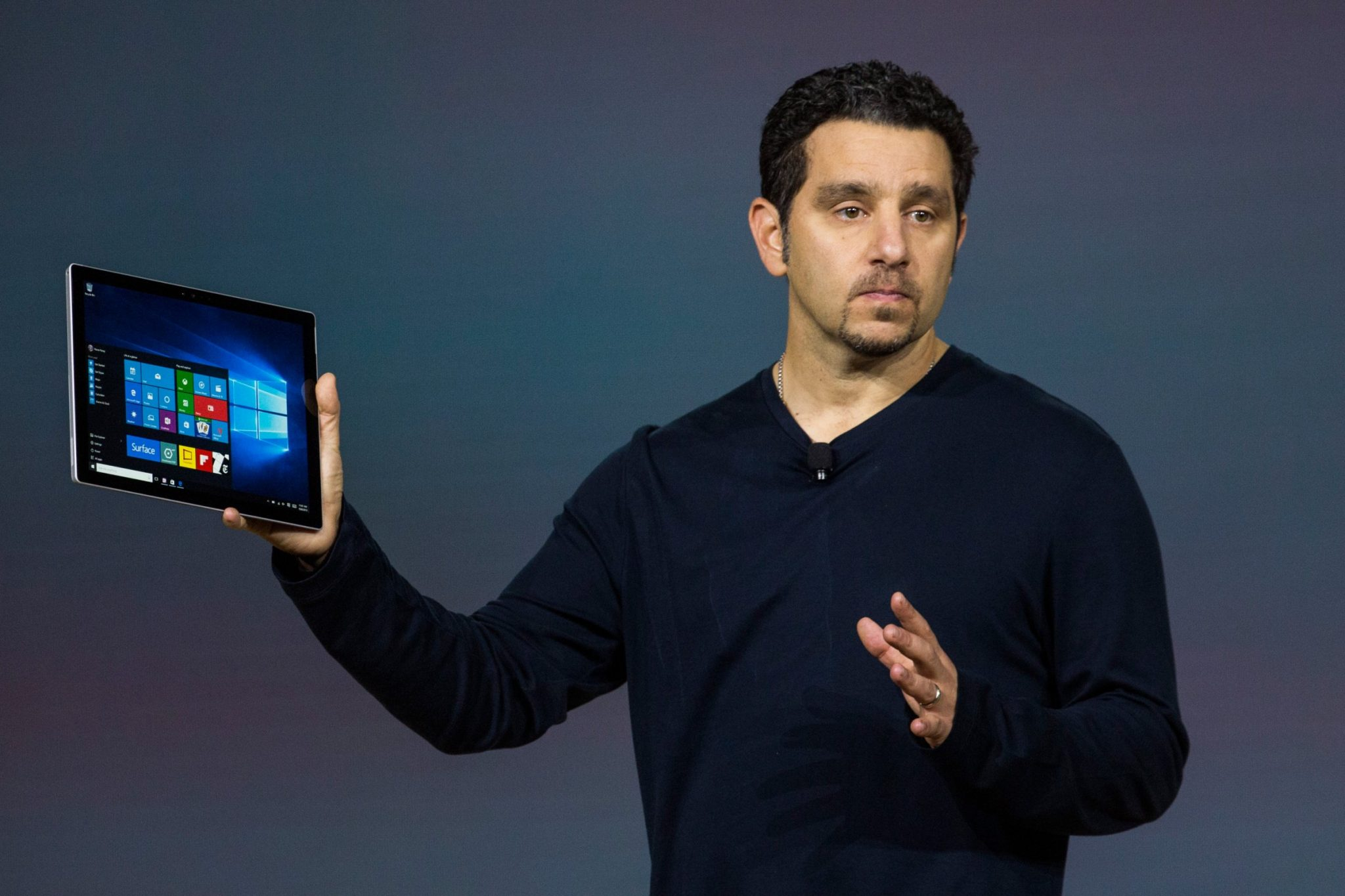 Presentación de la Surface Pro 4