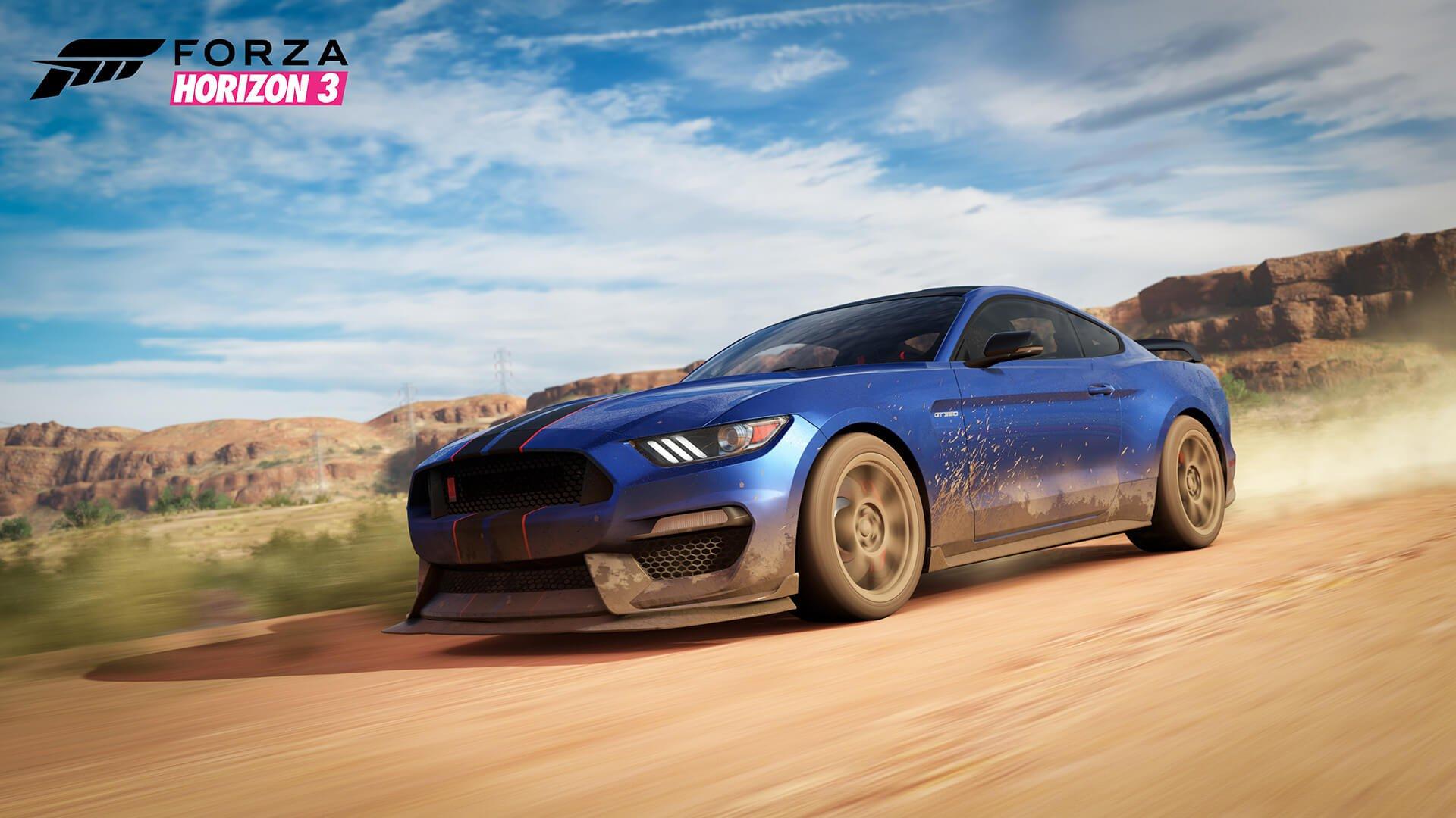 Shelby en Forza Horizon 3