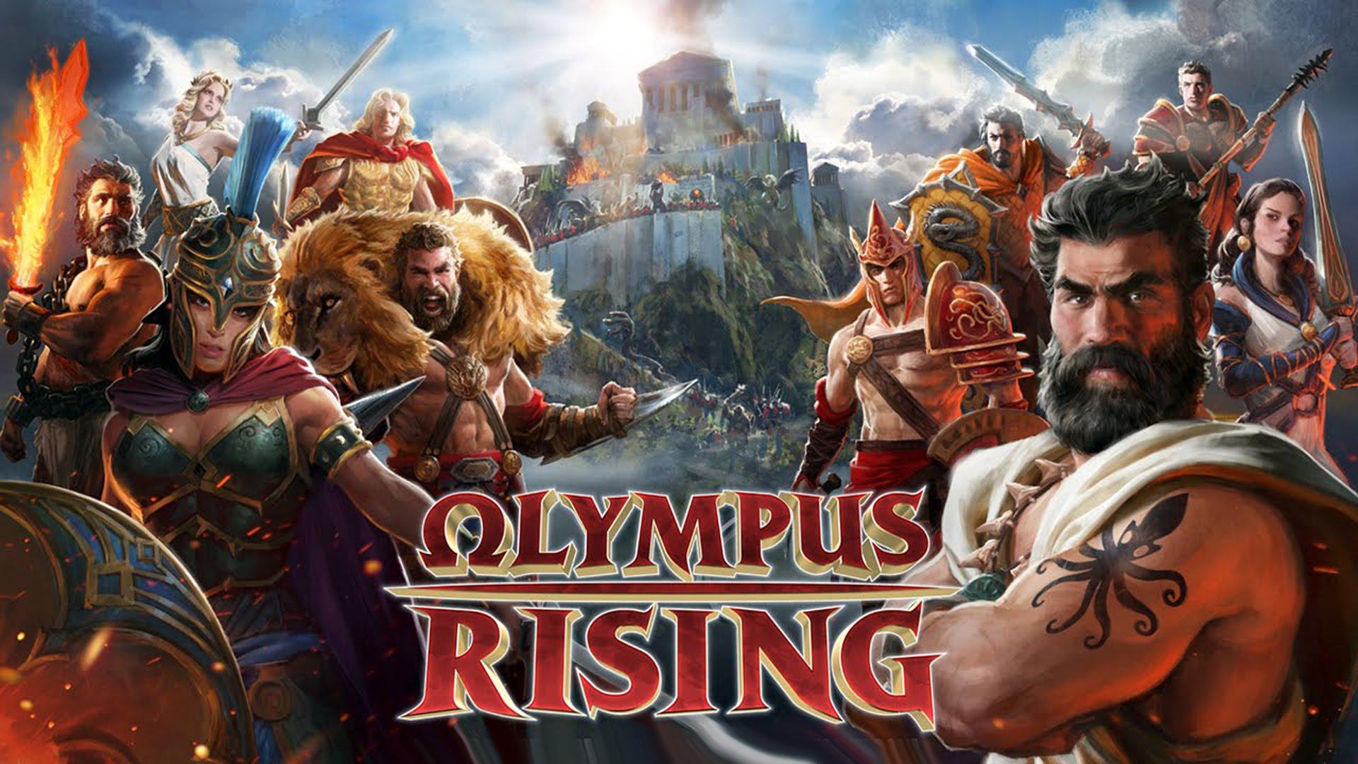 Portada de Olympus Rising