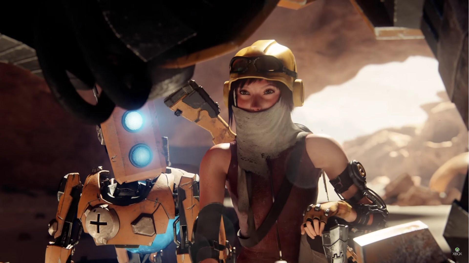 Imagen del trailer de ReCore