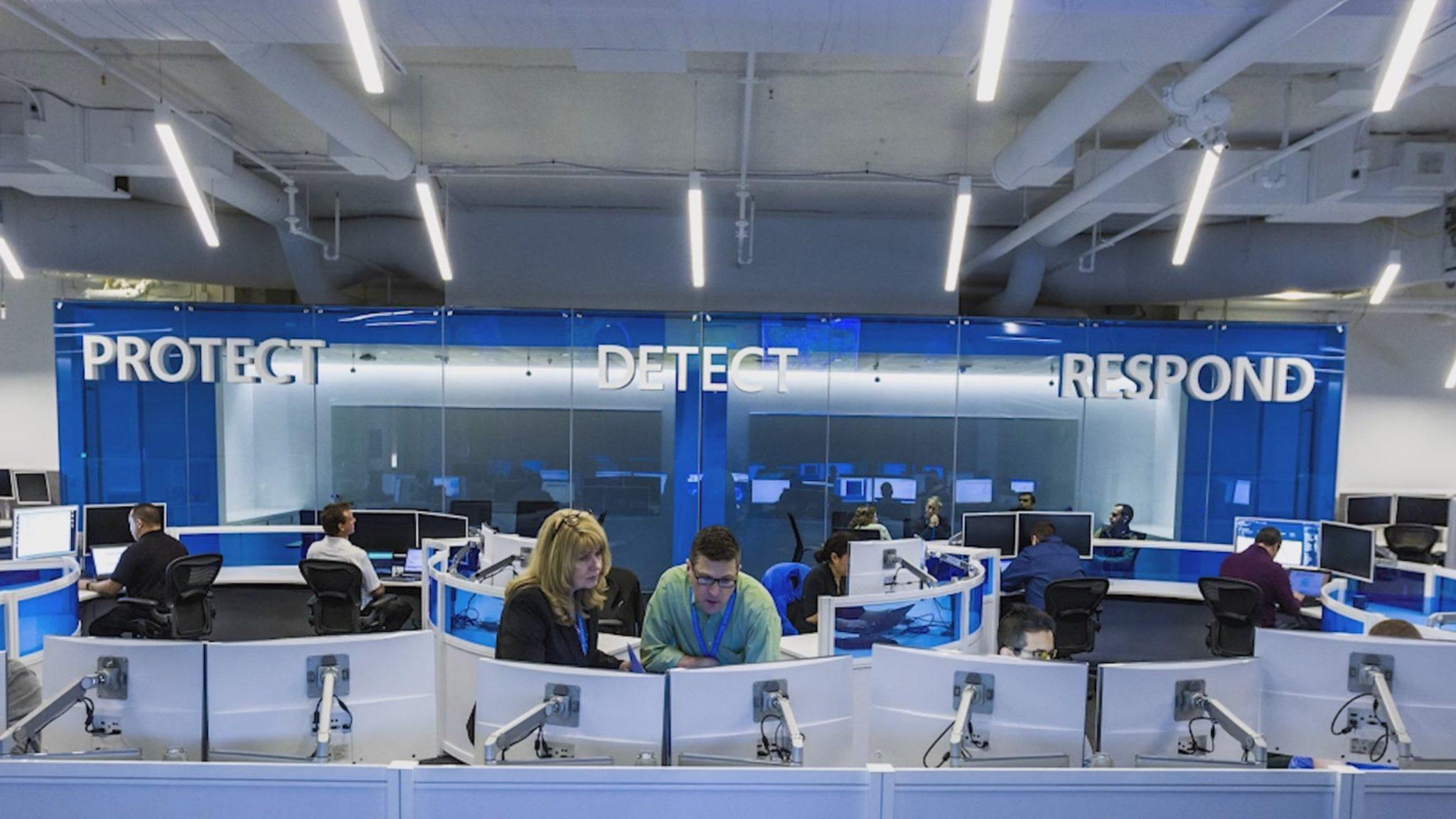 Centro de seguridad de Microsoft