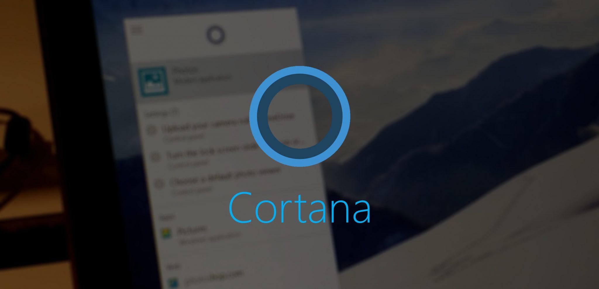 Logo de Cortana