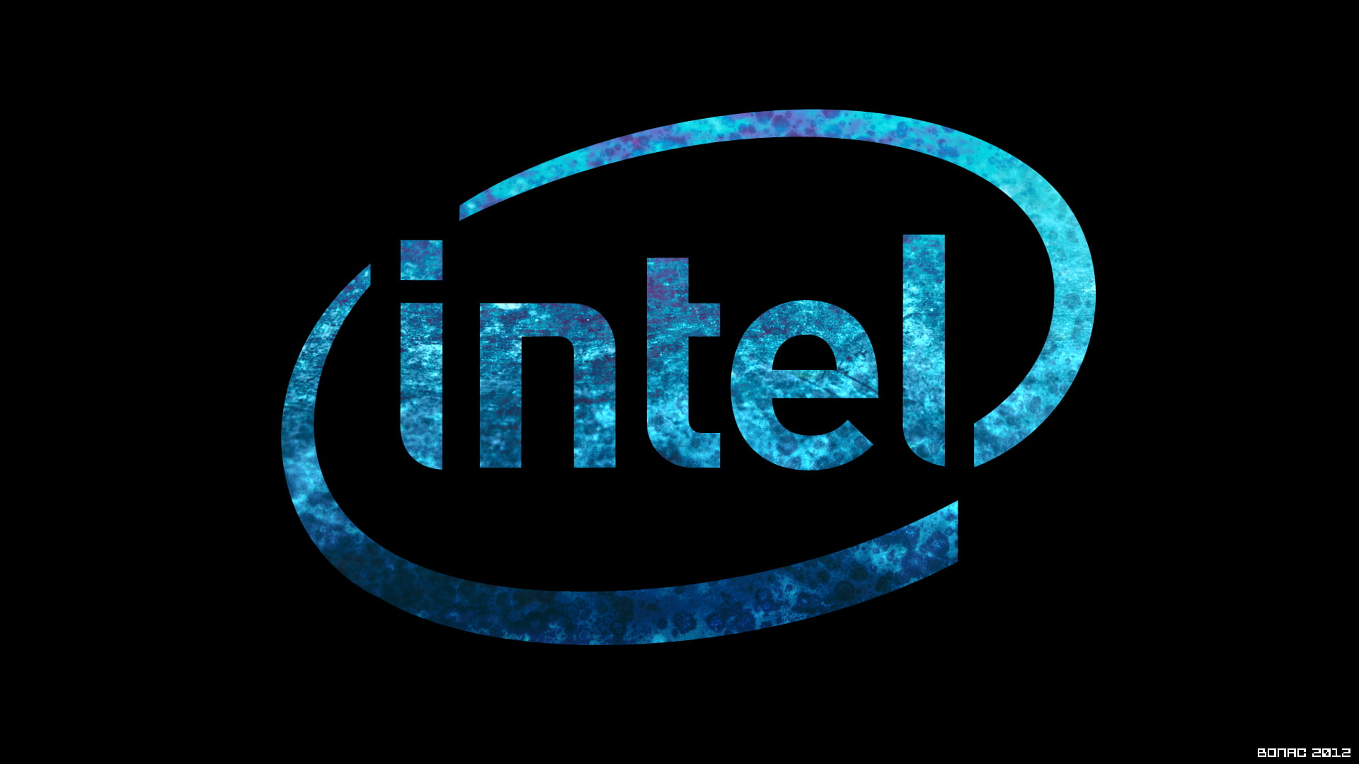 Logo de la empresa en azul