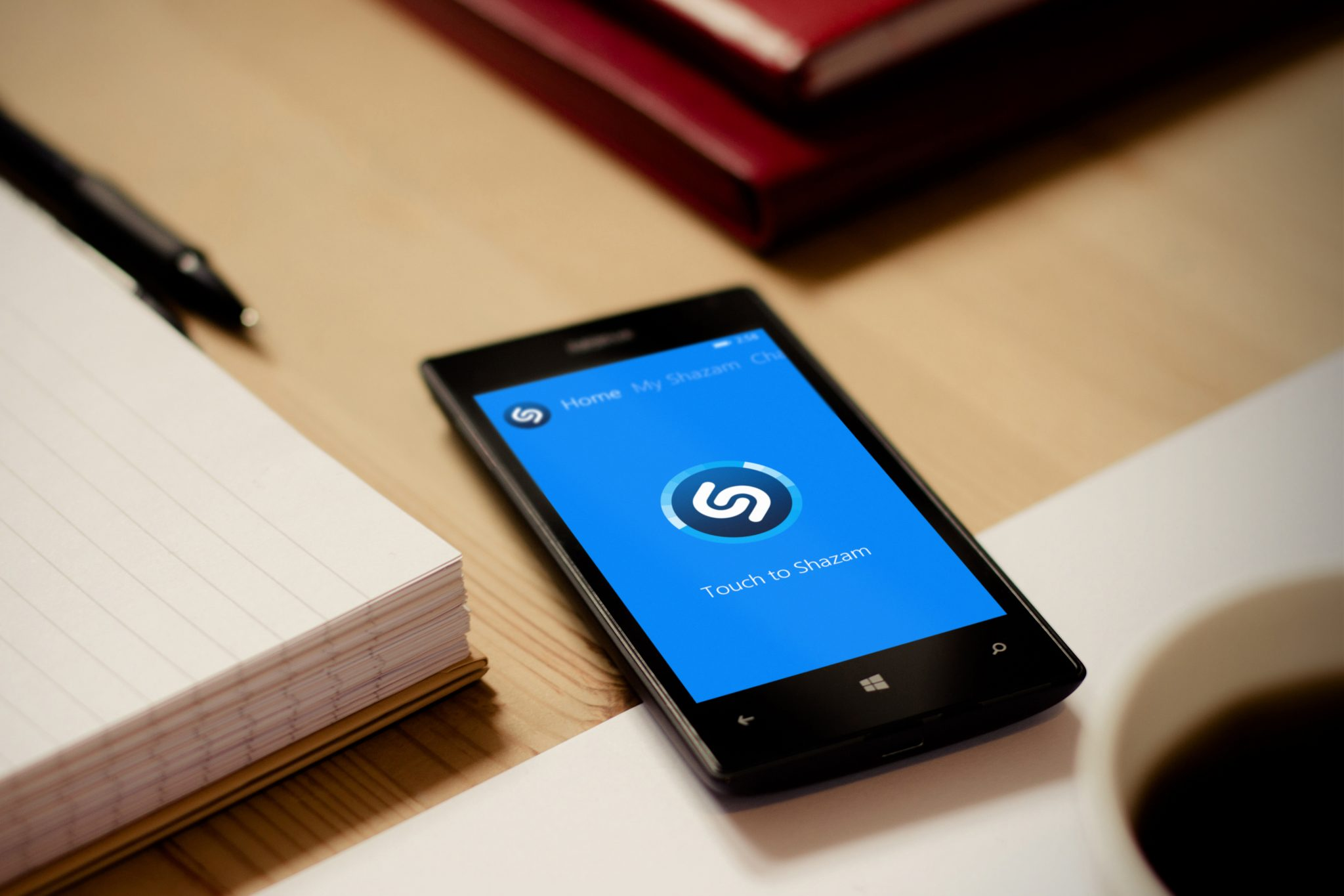 App en Nokia Lumia 520