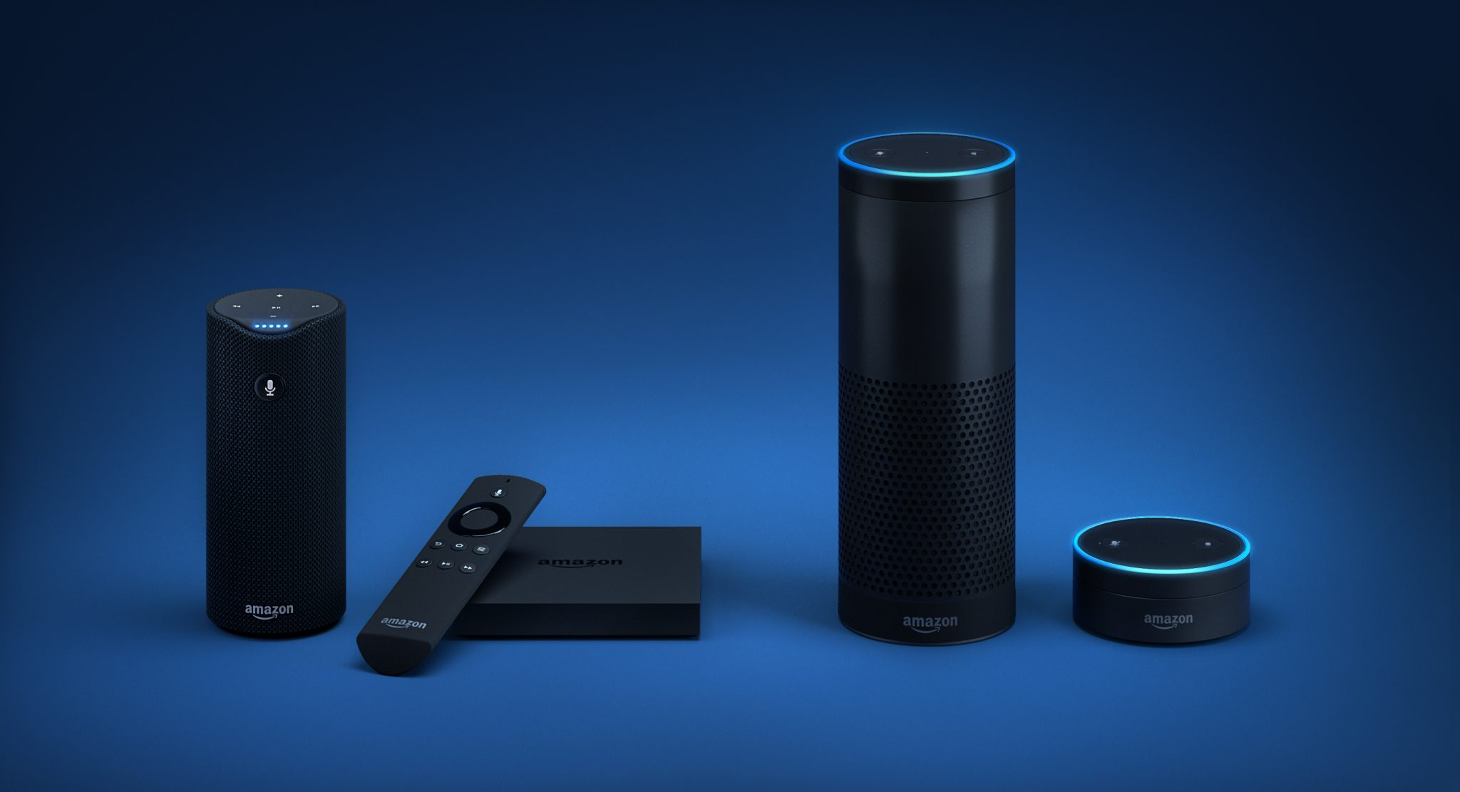 Familia de dispositivos con Alexa