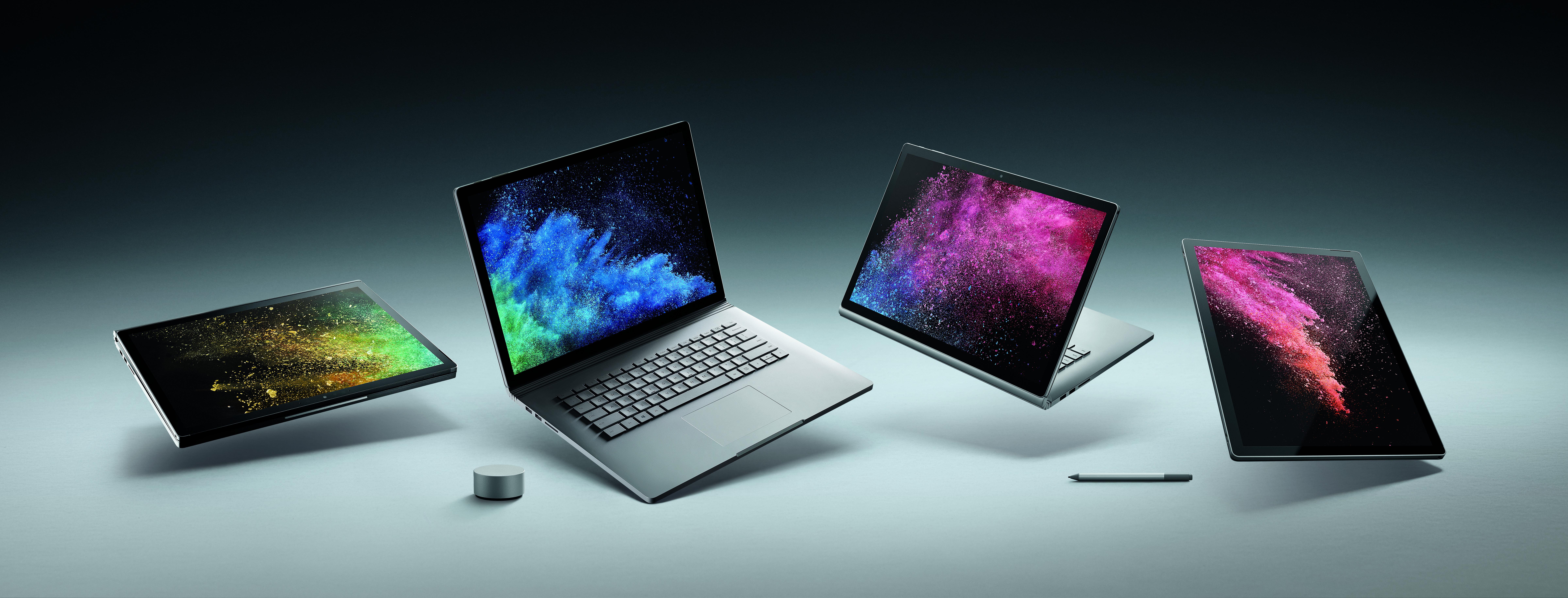 Llega la nueva Surface Book 2, el portatil 2 en 1 de Microsoft con Windows 10