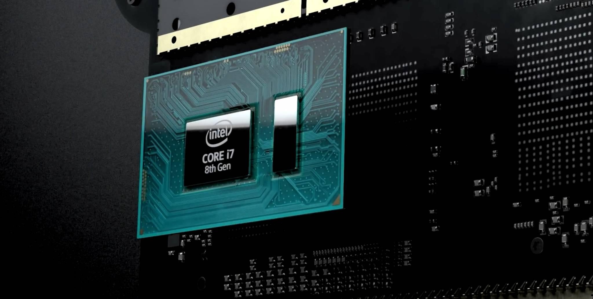 Surface Book 2 Intel procesador