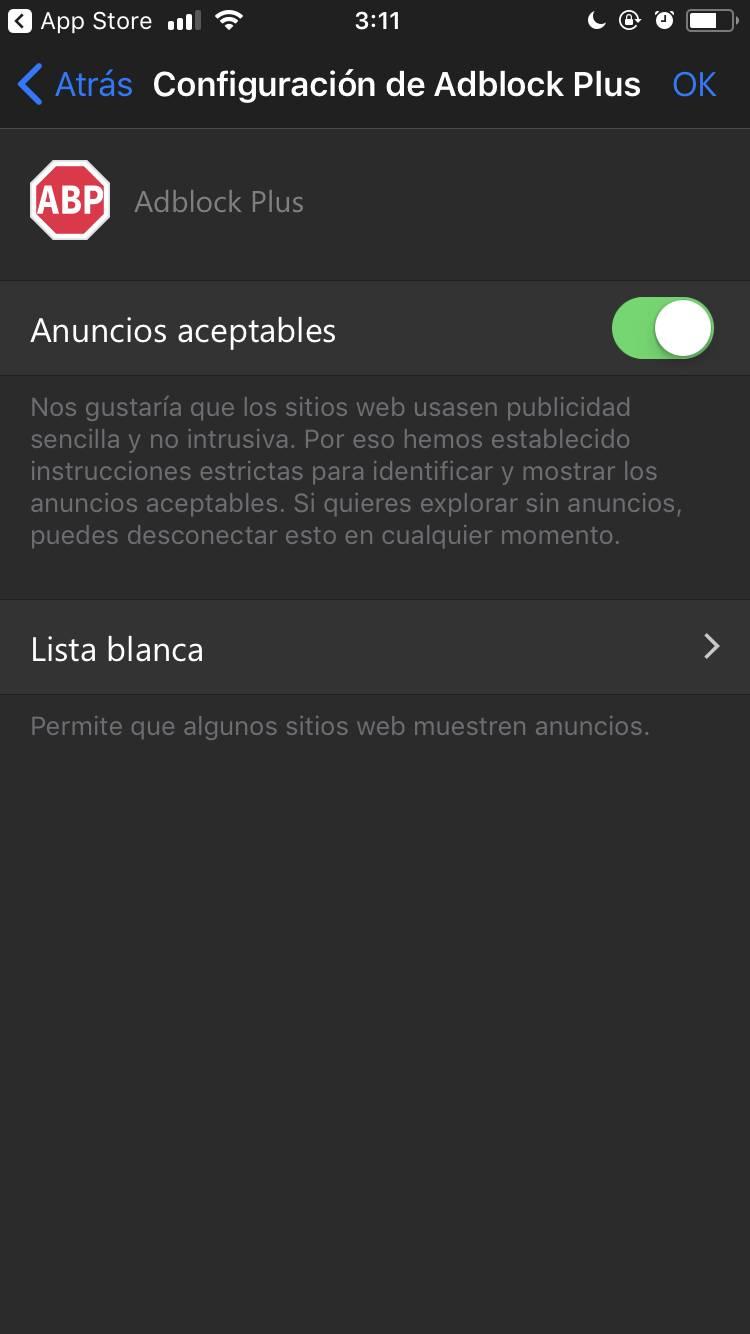 Adblock Plus llega a Microsoft Edge en iOS