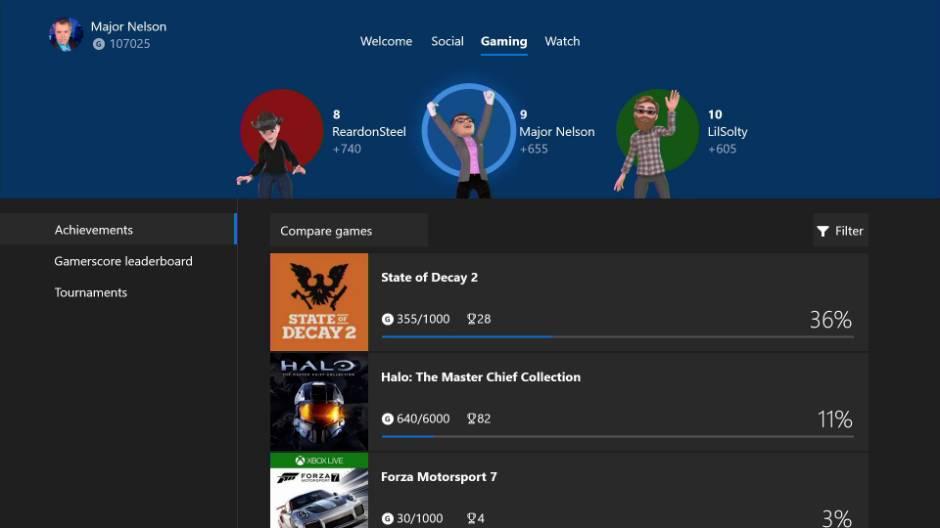 avatares Insider Xbox One