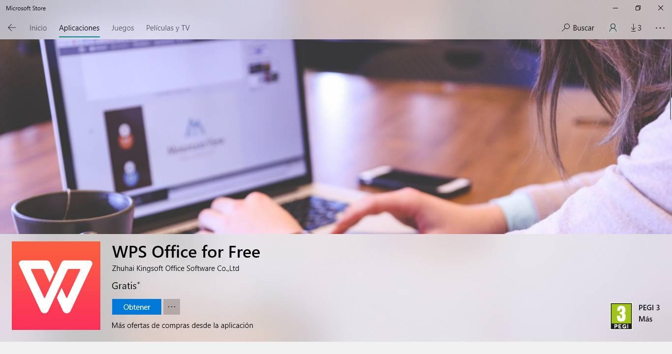 WPS Office Microsoft Store