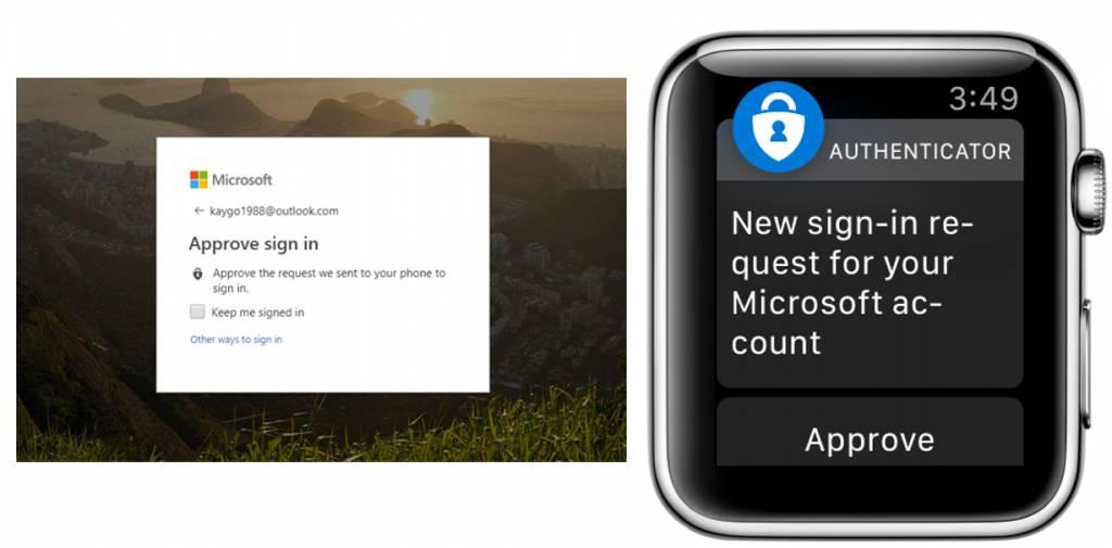 Microsoft Authenticator llega al Apple Watch