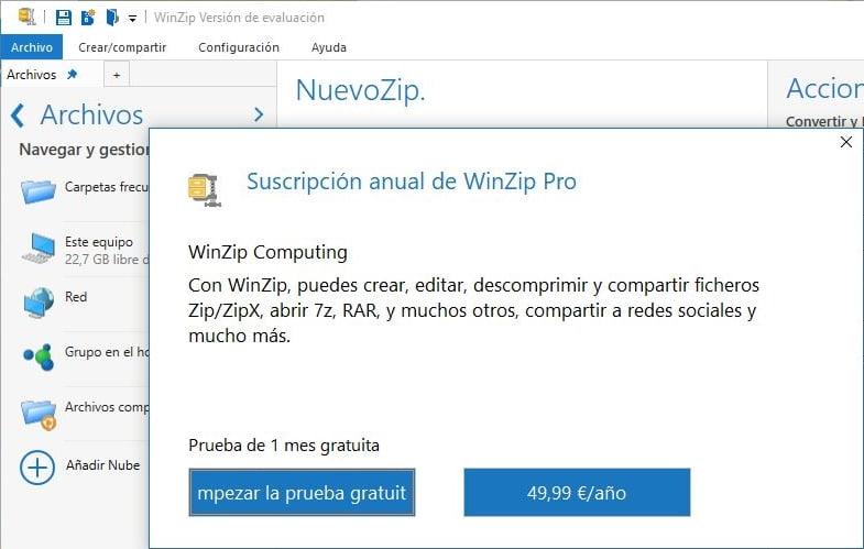 WinZip llega a la Tienda de Microsoft
