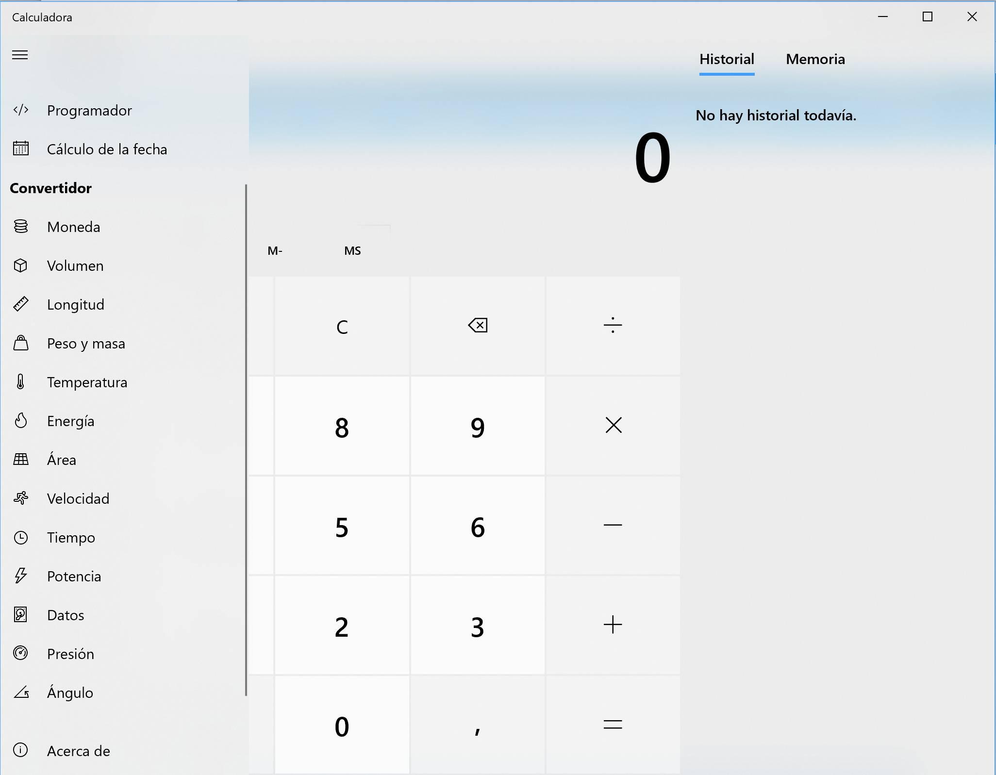 Llegan los iconos a la calculadora