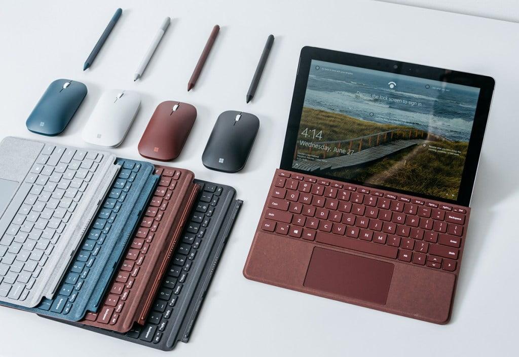 El teclado de la Surface