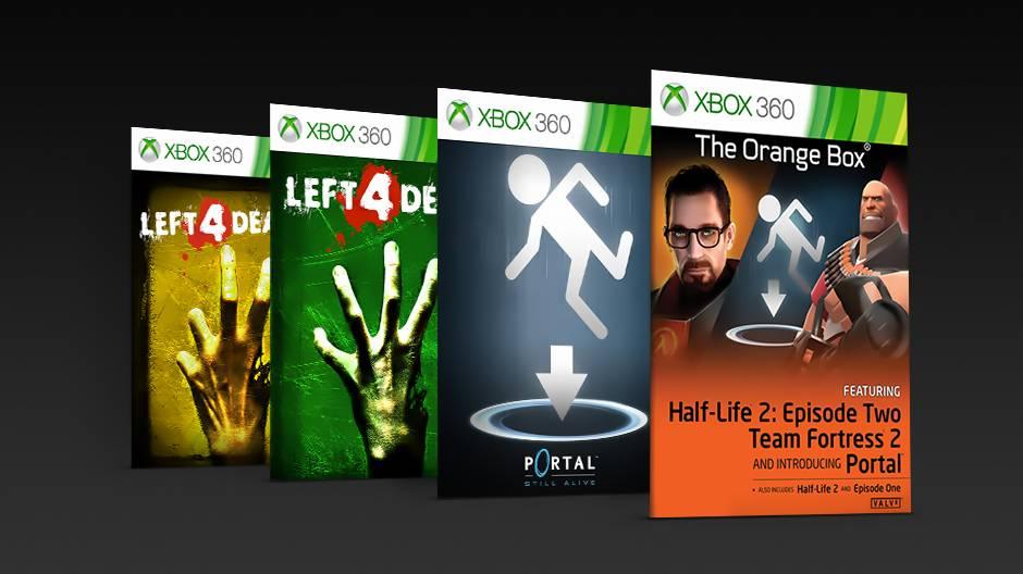 Los juegos de Valve en Xbox One X