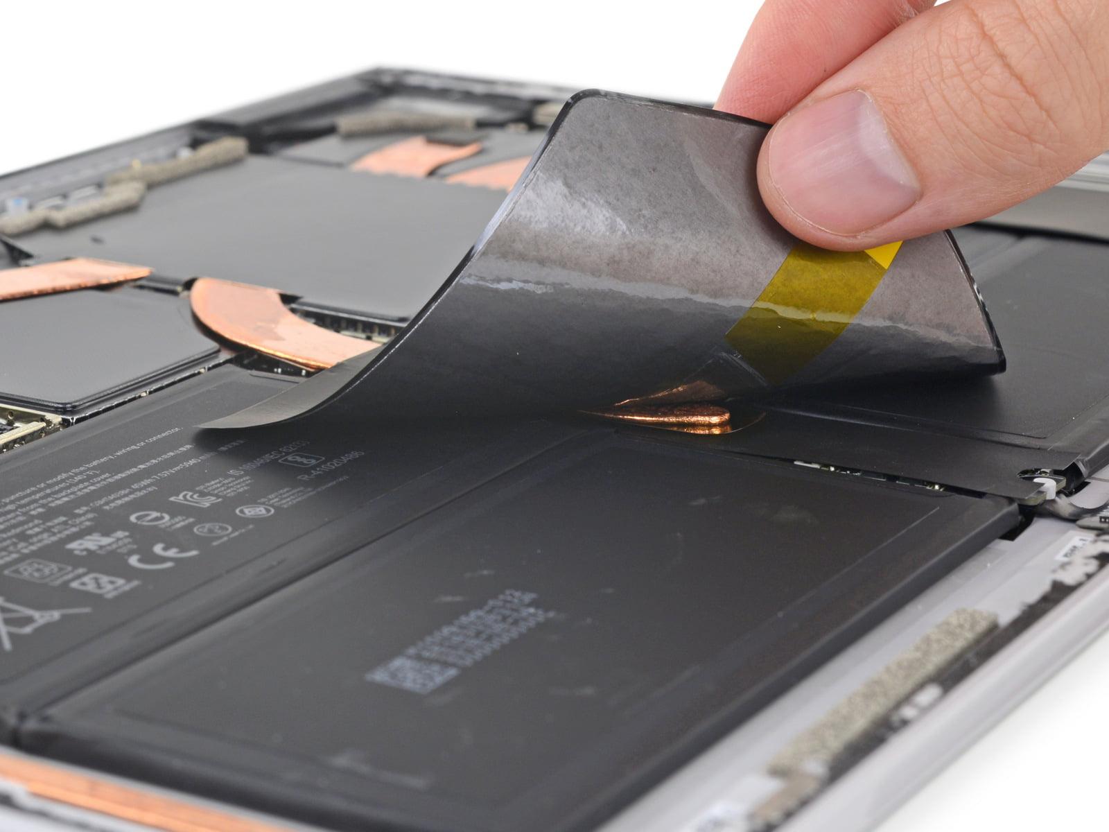 Surface Pro 6 desmontada por iFixit
