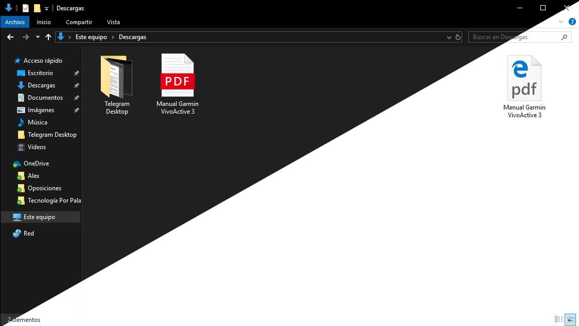 PDF en Microsoft Edge