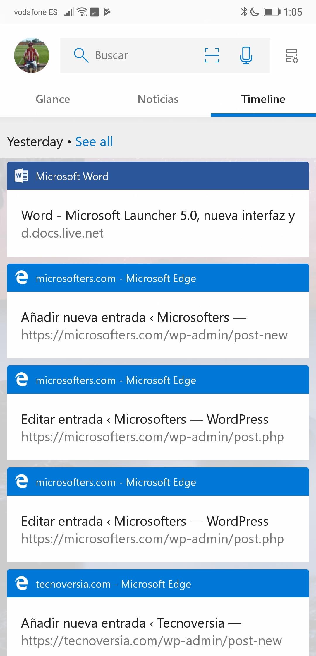 Microsoft Launcher 5.0 se actualiza con grandes novedades