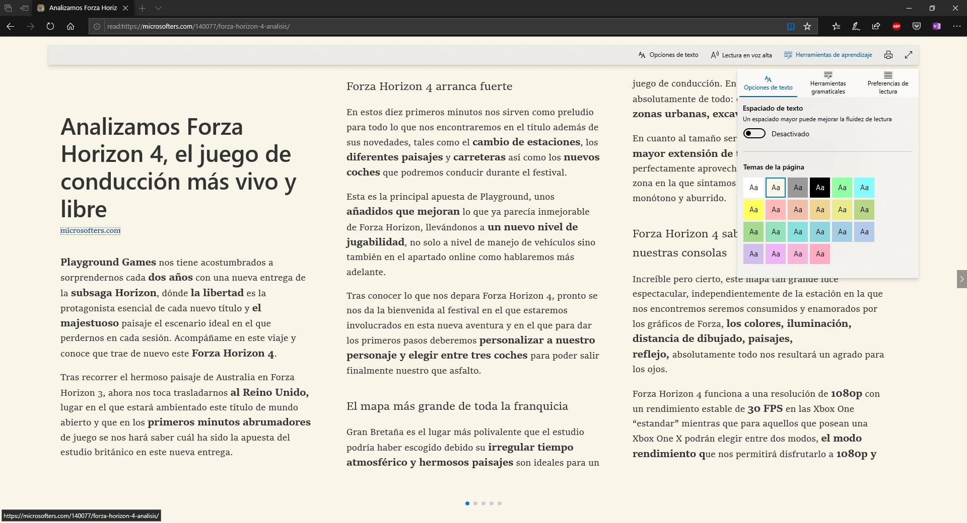 Las novedades de Microsoft Edge con Windows 10 October 2018 Update