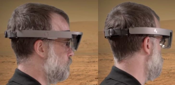 Imagen filtrada de las nuevas HoloLens