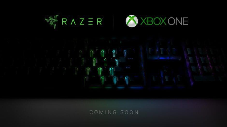 Xbox One y un teclado especial de Razer