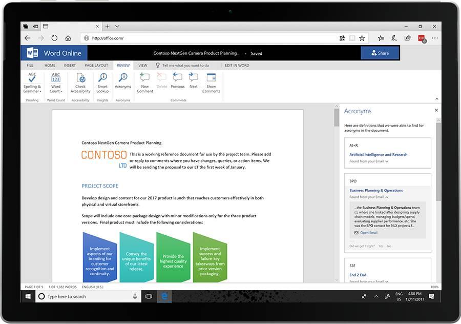 Microsoft 365 Diciembre