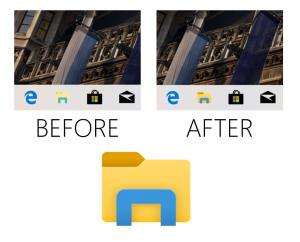 Nuevo icono del explorador de archivos de la Build 18298