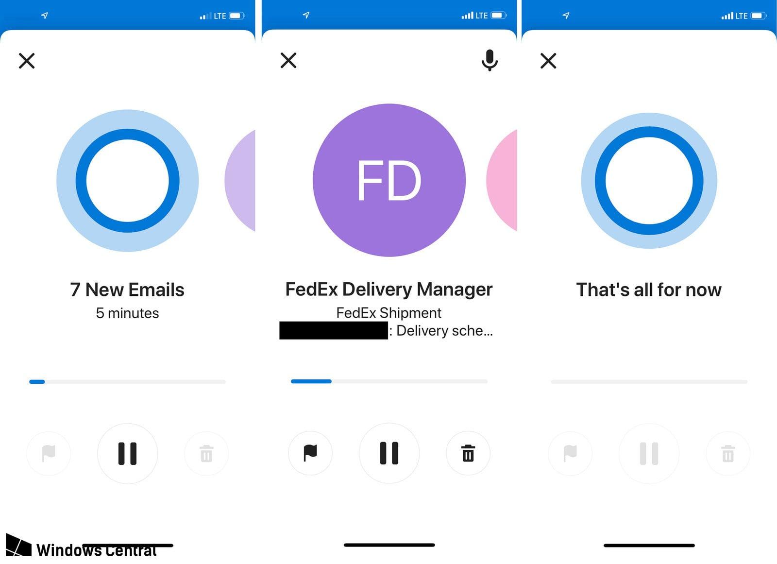 Cortana podrá leernos los correos de Outlook