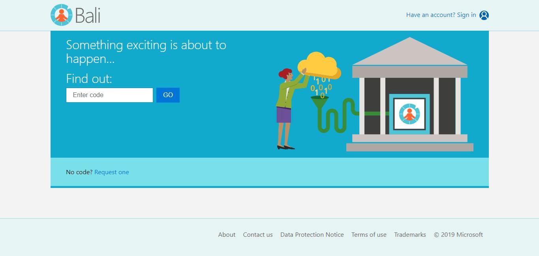 Microsoft Project Bali