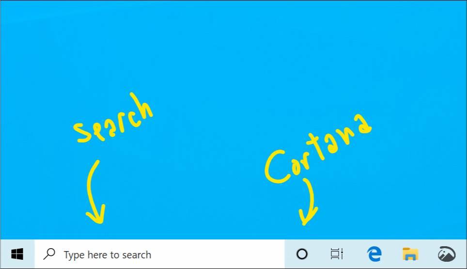 Cortana y la búsqueda se separan en la build 18137