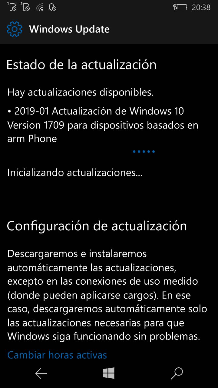 Windows 10 Mobile 15254.547