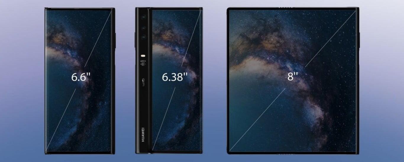 Pantalla Huawei Mate X