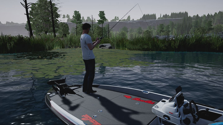Pescando en Fishing Sim World