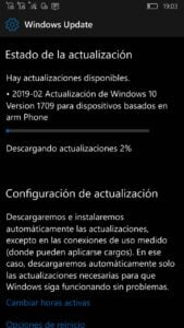 Windows 10 Mobile 15254.552