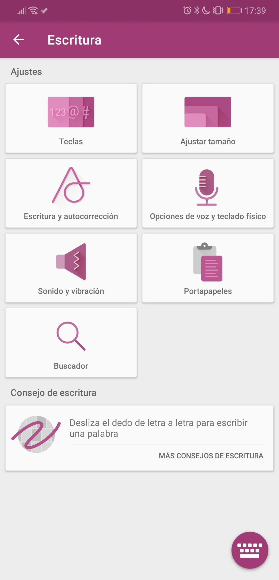 SwiftKey Beta introduce la búsqueda con Google