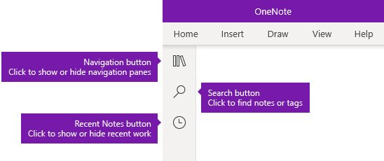 Aplicación de OneNote de Windows 10