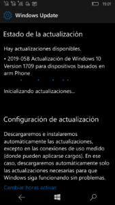 Windows 10 Mobile 15254.566