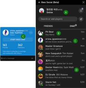 Lo último de Xbox y su chat