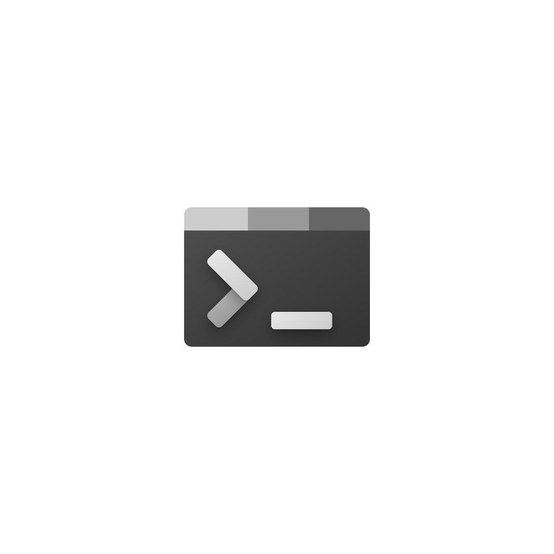 Nuevo icono de la aplicación Windows Terminal