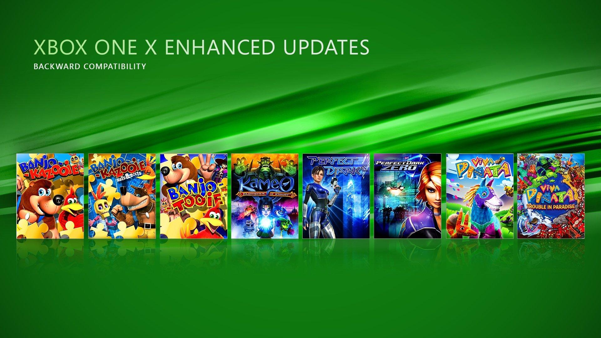 Títulos mejorados para Xbox One X