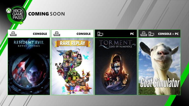 Novedades en GamePass