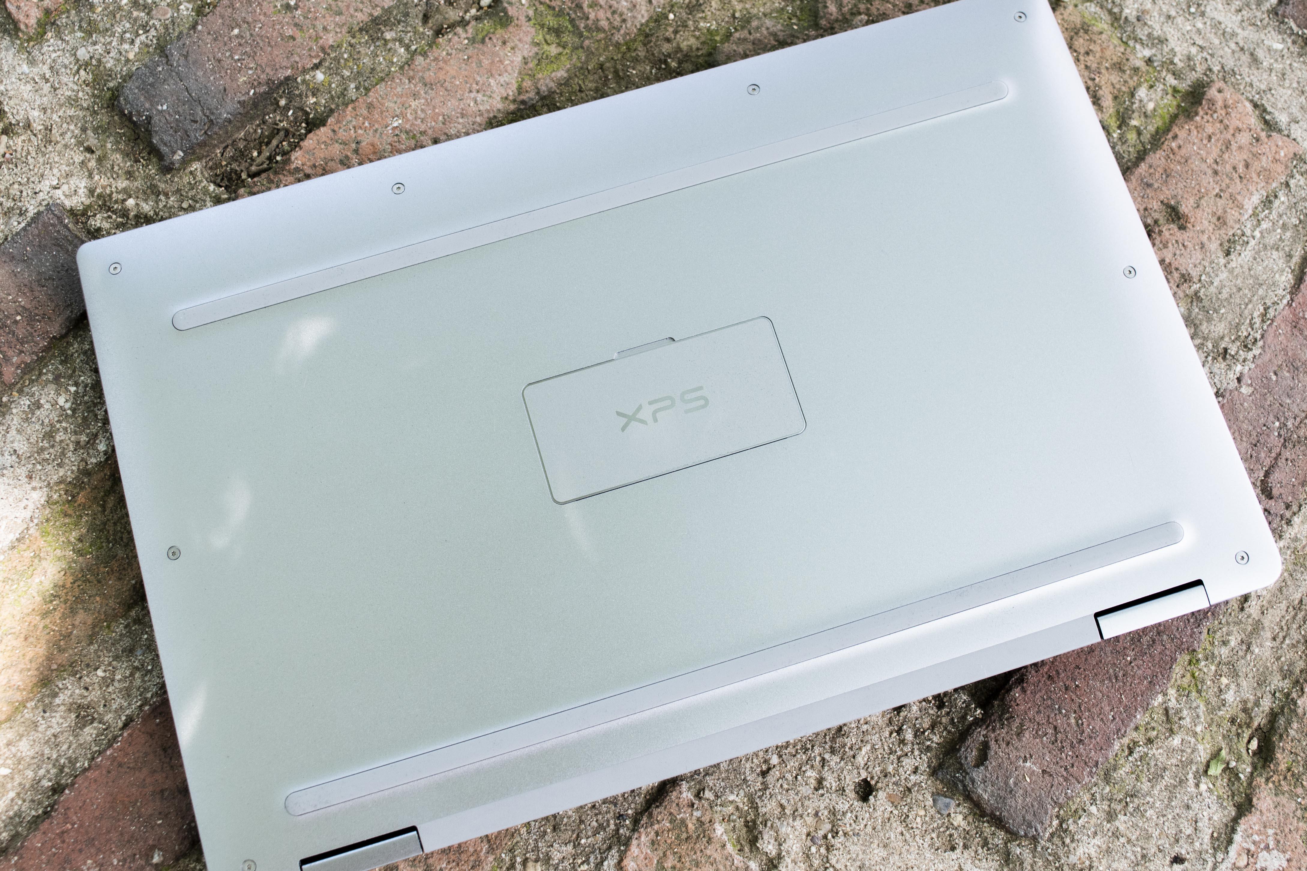 Vista trasera del Dell XPS 13