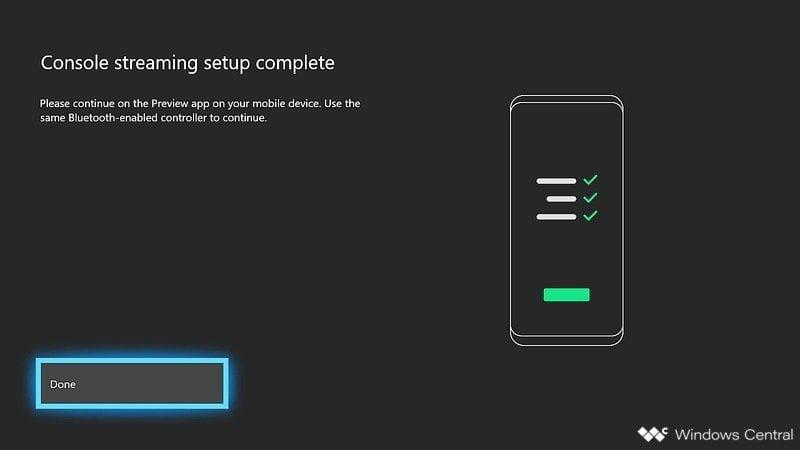 Configuración transmisión Xbox One
