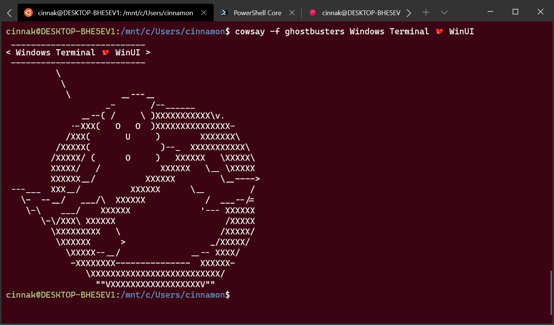 Windows Terminal TabView2.2