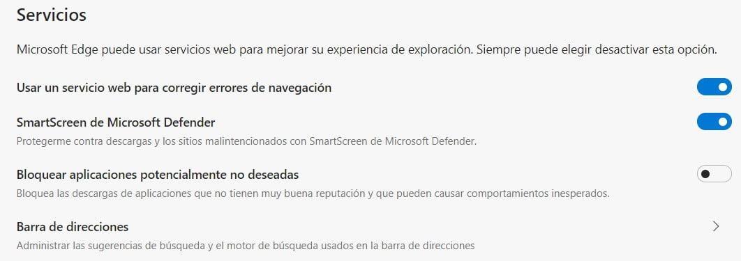 Bloqueo de apps no deseadas en la configuración de Edge