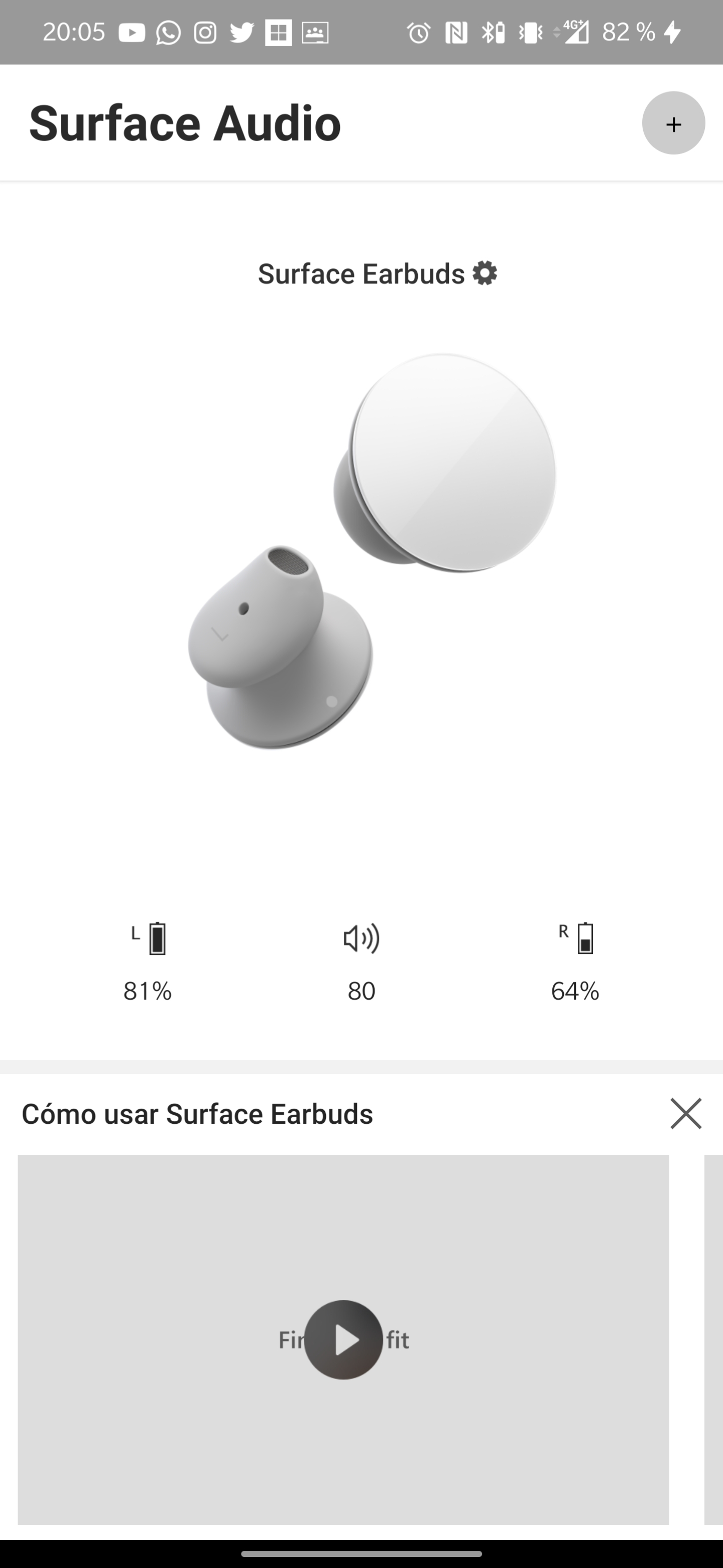 Conectar los Surface Earbuds 3