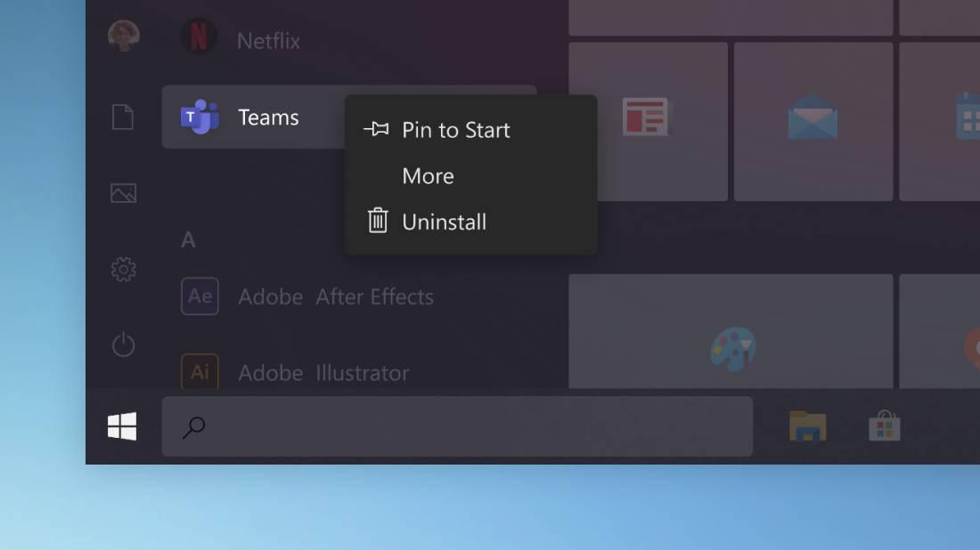 Nueva barra de búsqueda de Windows 10