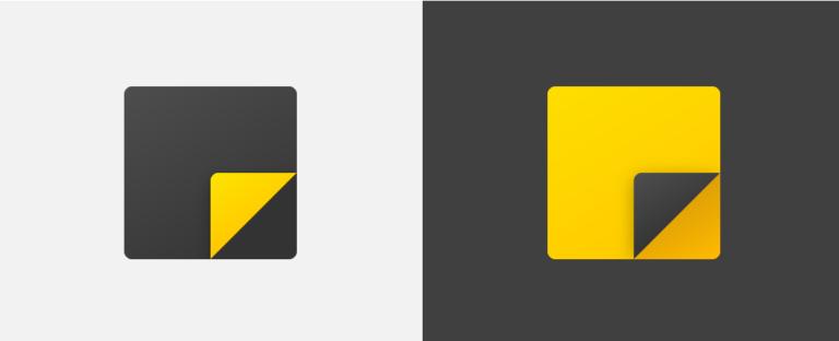Nuevos iconos de Notas rápidas