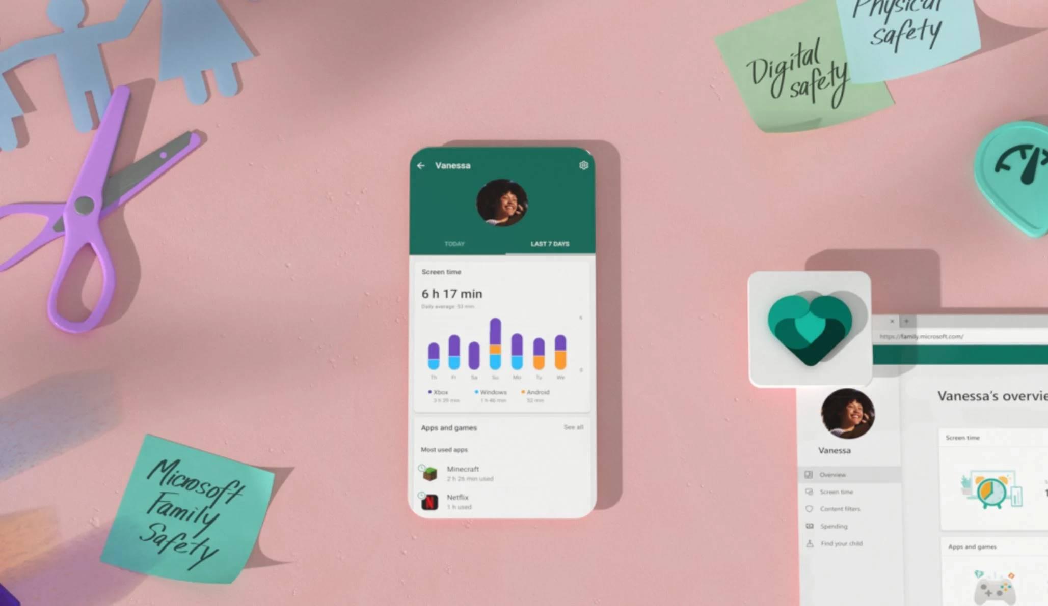Microsoft Family Safety, la nueva app de seguridad familiar de los de Silicon Valley