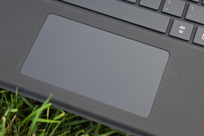 Touchpad de la funda-teclado de Surface Pro X
